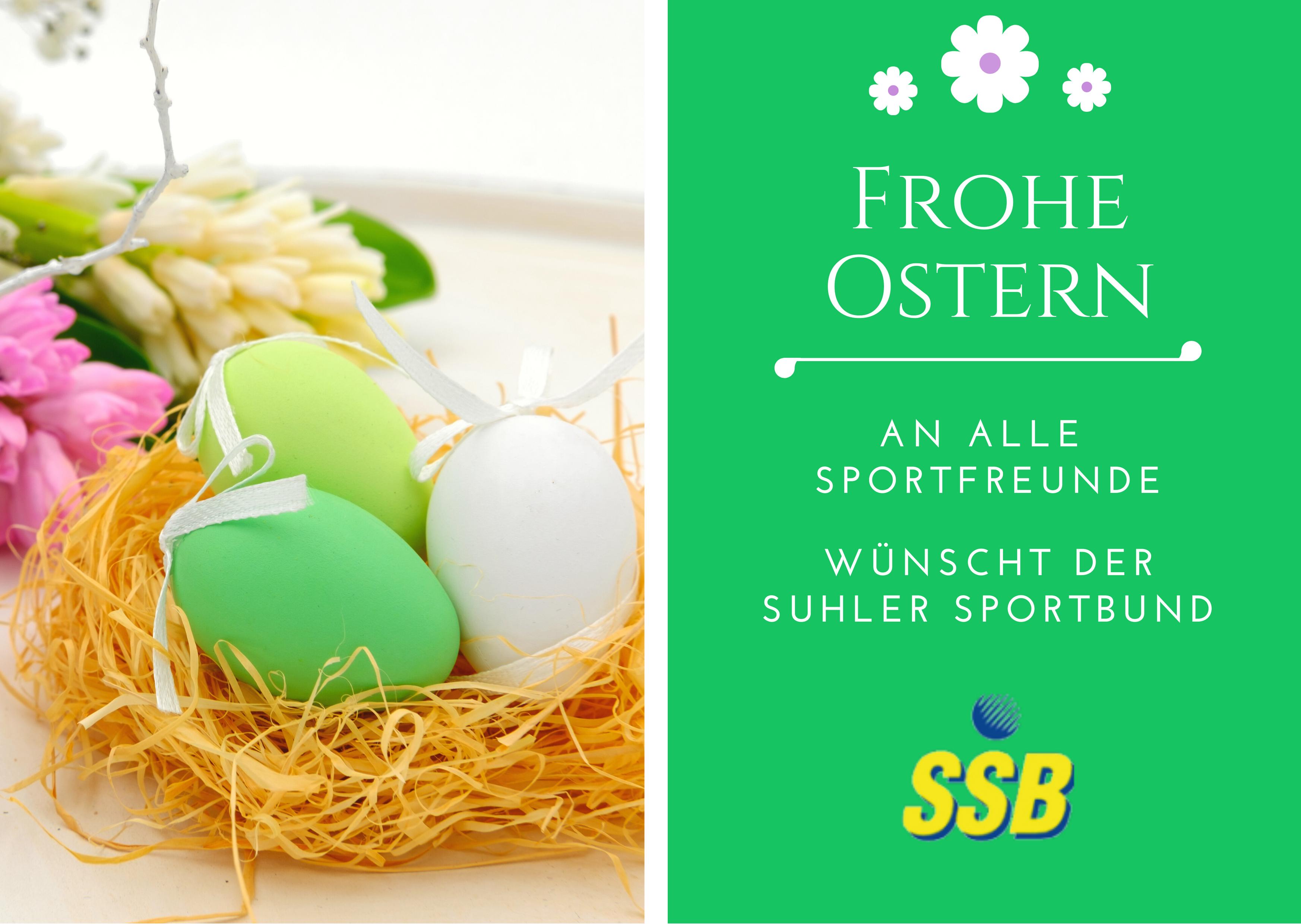 Frohe Ostern vom SSB
