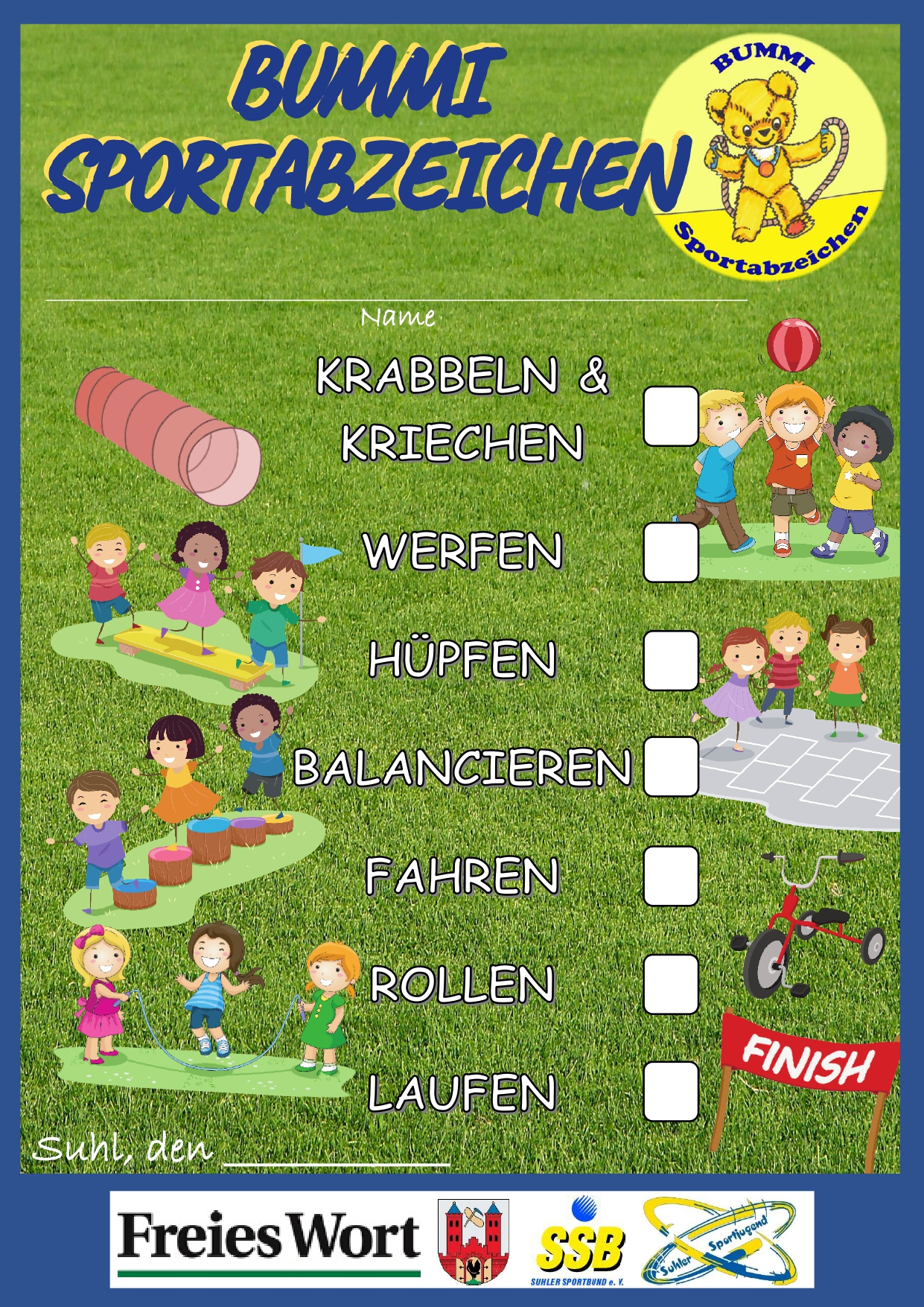 Bummi Sportabzeichen_SHL